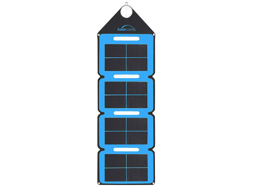 Solar Camp 7.6W Solympic Hue Portable Solar Panel (Color: Blue)
