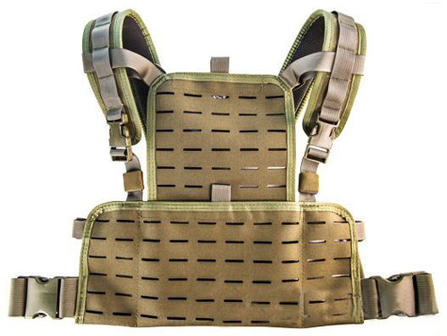 HSGI Neo Lightweight 1000D Cordura Chest Rig (Color: Olive Drab)