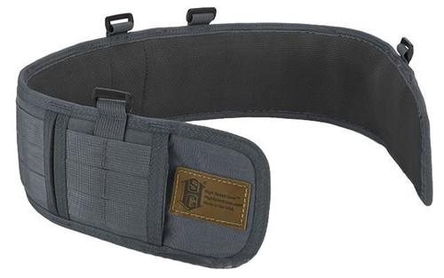 "HSGI Slotted Sure-Grip Padded Duty Belt (Color: Wolf Grey / Medium 35.5"")"