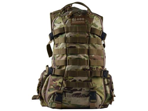 GEIGERRIG RIG1600 Tactical Hydration Pack w/ 2L Hydration Engine (Color: Multicam)