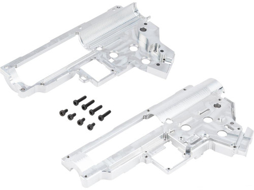 Retro Arms CZ Billet CNC 8mm Ver.2 Gearbox Shell for ARES Amoeba Series M4 Airsoft AEG Rifles