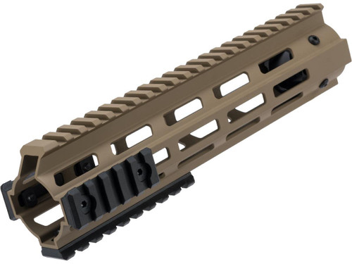 "King Arms M-LOK Handguard for M4/M16 Series Airsoft AEGs (Color: Dark Earth / 9.5"")"