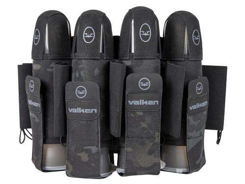 Valken Agility 4+7 Paintball Harness (Color: V-Cam Black)