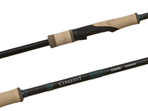 """Shimano / G. Loomis Conquest Mag Bass Fishing Rod (Model: 7'6"""" / H / F)"""