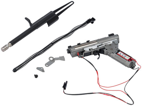 LCT Airsoft Complete Gearbox w/ Electric Blowback and Recoil Kit for AK Series Airsoft AEG (Type: Short Bolt)