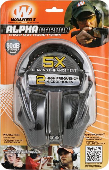 Game Ear Alpha Carbon