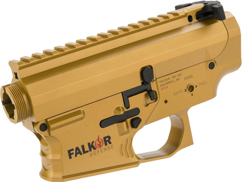 EMG Falkor Officially Licensed Receiver for M4/M16 Series Airsoft AEGs (Color: Falkor Gold)
