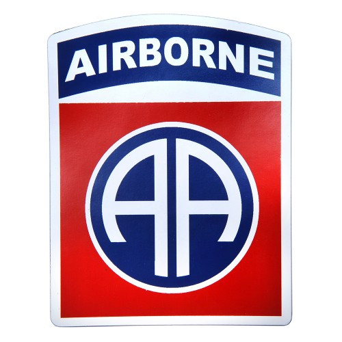 82nd Airborne Vehicle Magnet
