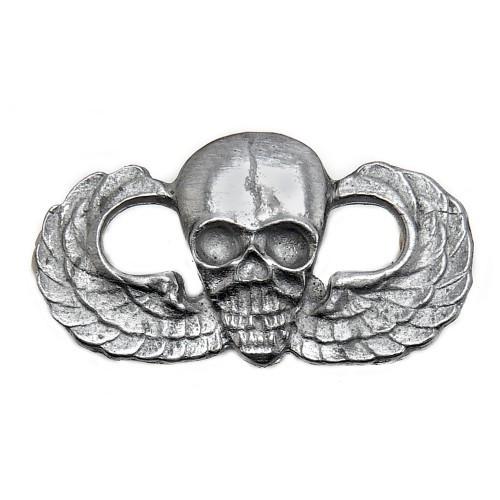 US Airborne Paratrooper Wings w/Skull