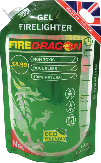 FireDragon Gel Fuel Pouch 1L
