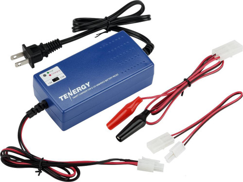 Tenergy Version 2 Airsoft Smart Charger for 7.2V-12V NiMh & NiCd Battery Packs by Tenergy - Advanced Type