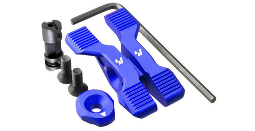 Strike Industries Strike Switch Ambidextrous Selector Lever for AR15 Type Rifles (Color: Blue)