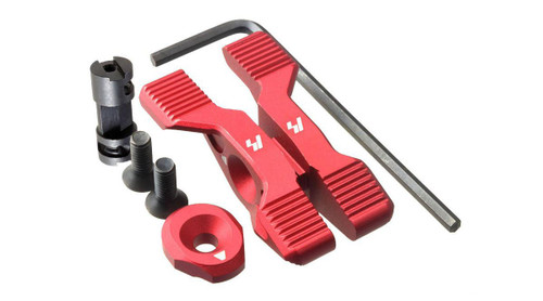 Strike Industries Strike Switch Ambidextrous Selector Lever for AR15 Type Rifles (Color: Red)