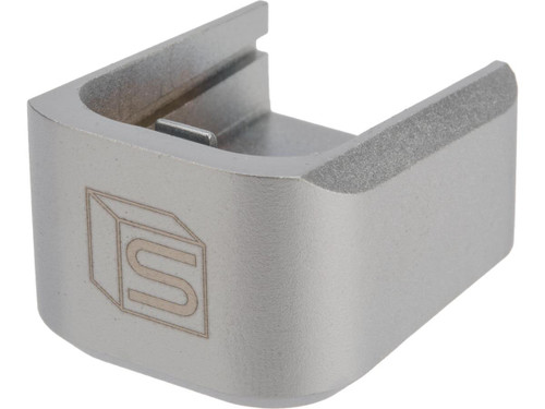 EMG / Salient Arms International 2011 Base Plate for Hi-Capa Series Airsoft Gas Magazines (Color: Silver / CO2)