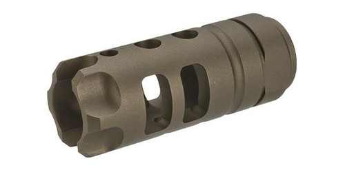 """G&P """"MOTS"""" Flashhider for Airsoft AEGs (Color: Sand)"""