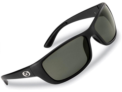 "Flying Fisherman ""Cay Sal"" Polarized Sunglasses (Color: Matte Black w/ Smoke Lens)"