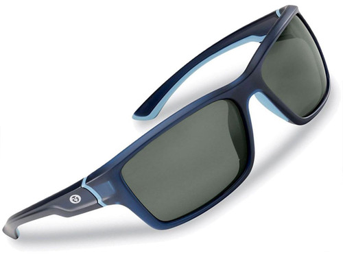 "Flying Fisherman ""Cove"" Polarized Sunglasses (Color: Matte Crystal w/ Navy Smoke Lens)"