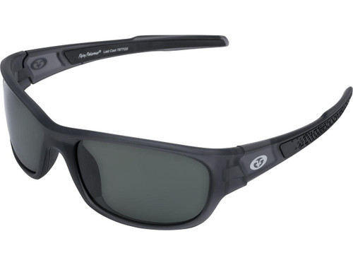 "Flying Fisherman ""Last Cast"" Polarized Sunglasses (Color: Granite w/ Smoke Lens)"