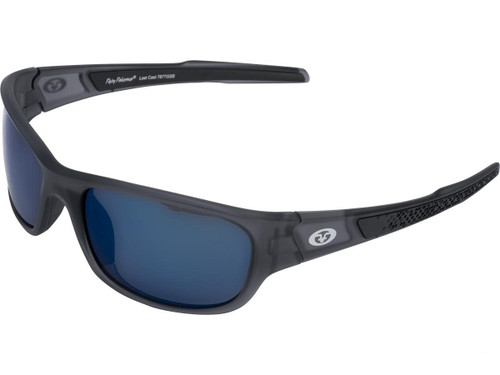"Flying Fisherman ""Last Cast"" Polarized Sunglasses (Color: Granite w/ Smoke Blue Lens)"