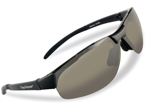 "Flying Fisherman ""Maverick"" Polarized Sunglasses (Color: Matte Black w/ Smoke Lens)"
