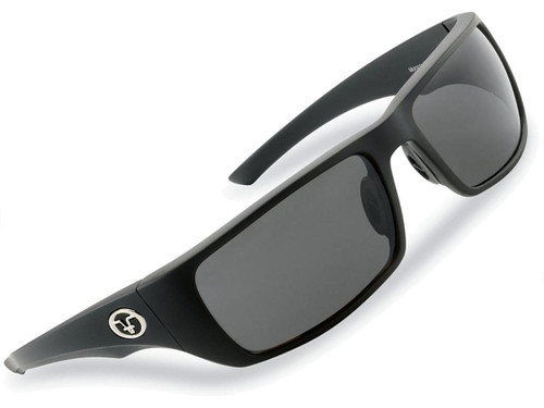 "Flying Fisherman ""Morocco"" Polarized Sunglasses (Color: Matte Black w/ Smoke Lens)"
