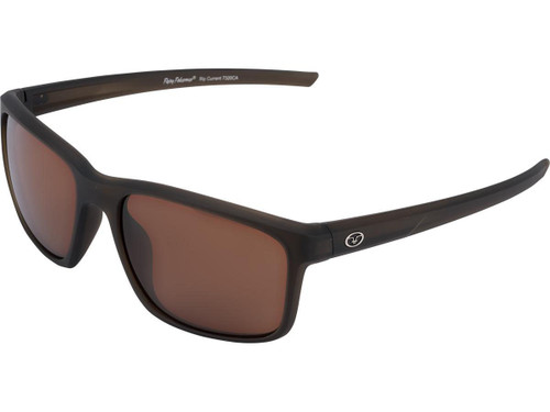 "Flying Fisherman ""Rip Current"" Polarized Sunglasses (Color: Brown w/ Amber Lens)"