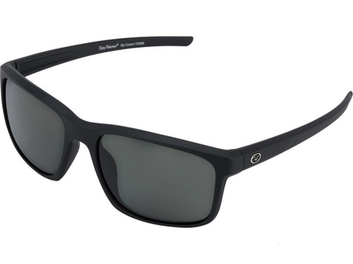 "Flying Fisherman ""Rip Current"" Polarized Sunglasses (Color: Matte Black w/ Smoke Lens)"