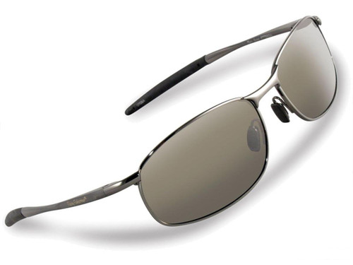 "Flying Fisherman ""San Jose"" Polarized Sunglasses (Color: Gunmetal w/ Smoke Lens)"