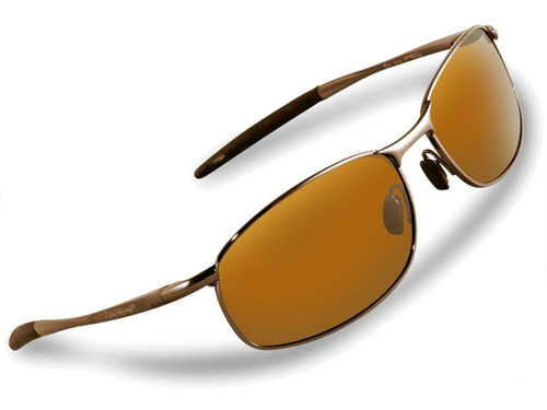 "Flying Fisherman ""San Jose"" Polarized Sunglasses (Color: Copper w/ Amber Lens)"