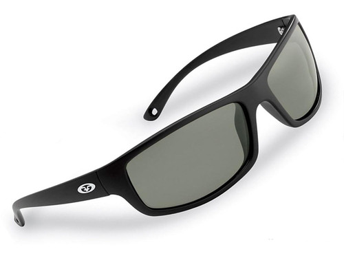 "Flying Fisherman ""Slack Tide"" Polarized Sunglasses (Color: Matte Black w/ Smoke Lens)"