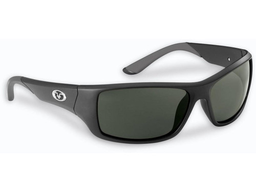 "Flying Fisherman ""Triton"" Polarized Sunglasses (Color: Matte Black w/ Smoke Lens)"