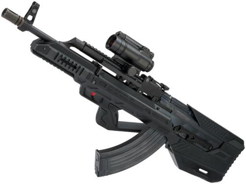 WE-Tech AK47 PMC Gas Blowback Airsoft Rifle with SRU AK Bullpup Conversion Kit