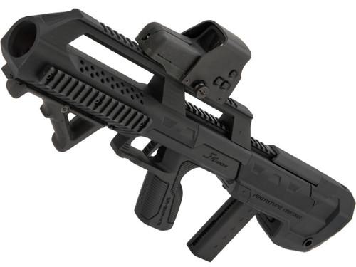 SRU 3D Printed Bullpup Conversion Kit for KJW KC-02 Gas Blowback Rifle (Color: Black)