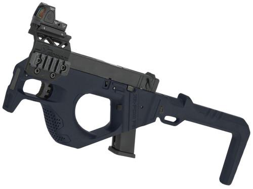 SRU 3D Printed PDW Gas Blowback Pistol Carbine (Color: Blue)