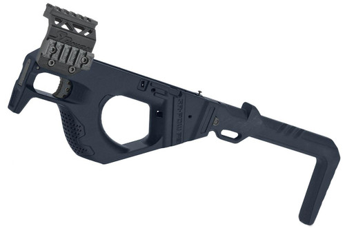 SRU 3D Printed PDW Carbine Kit for G Series Gas Blowback Airsoft Pistols (Color: Blue)