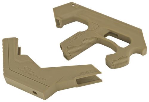 SRU SCAR-L 3D Printer Bullpup Carbine Kit for WE-Tech Mk16 / SCAR-L Gas Blowback Airsoft Rifles (Color: Tan)