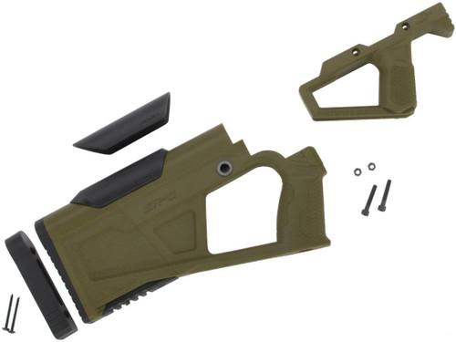 SRU SRQ AR Advanced Kit for Gas Blowback Airsoft M4 Rifles (Color: OD Green)
