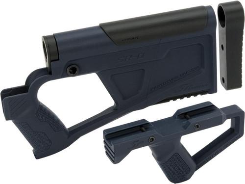SRU SRQ AR Advanced Kit for TM Spec M4 Airsoft AEG Rifles (Color: Blue)