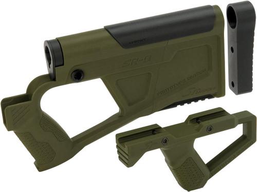 SRU SRQ AR Advanced Kit for TM Spec M4 Airsoft AEG Rifles (Color: OD Green)