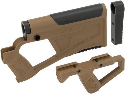 SRU SRQ AR Advanced Kit for TM Spec M4 Airsoft AEG Rifles (Color: Tan)