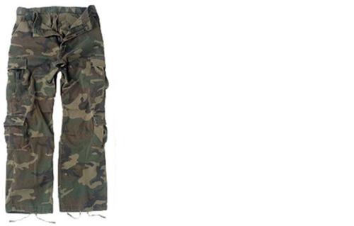 Hero Brand BDU Pants - Vintage Woodland