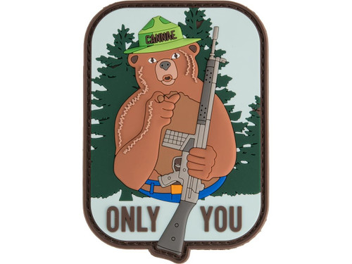 """Cannae """"Only You"""" PVC Morale Patch"""