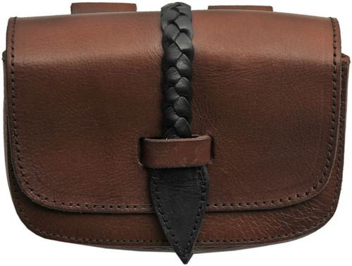 Medieval Belt Bag Black/Brown