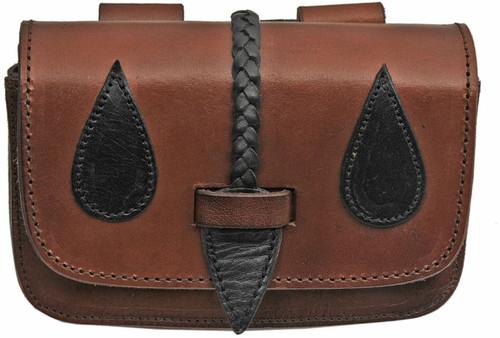 Medieval Belt Bag Black/Brown PA4421