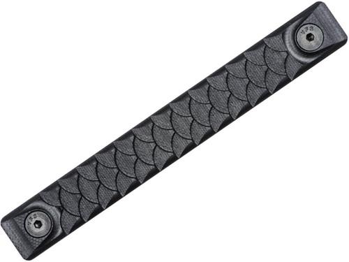 RailScales G10 Machined Scales for M-LOK 3Slot Handguards (Model: Black / Long / Dragon)