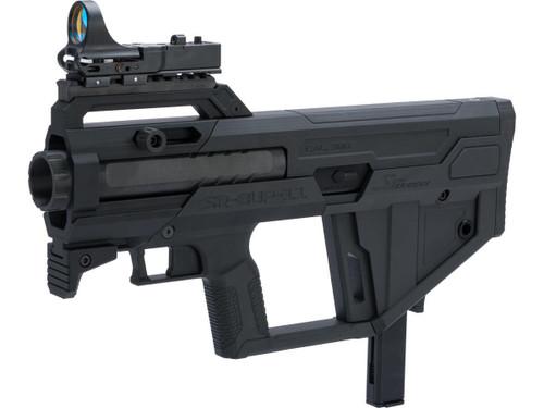 SRU Bullpup Kit for M11 Gas Blowback Machine Pistols (Color: Black / KWA M11A1 Pre-Installed)