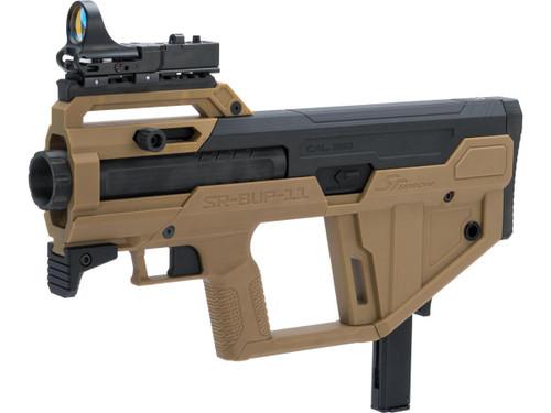 SRU Bullpup Kit for M11 Gas Blowback Machine Pistols (Color: Tan / KWA M11A1 Pre-Installed)