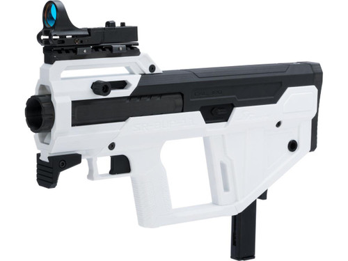SRU Bullpup Kit for M11 Gas Blowback Machine Pistols (Color: White / KWA M11A1 Pre-Installed)