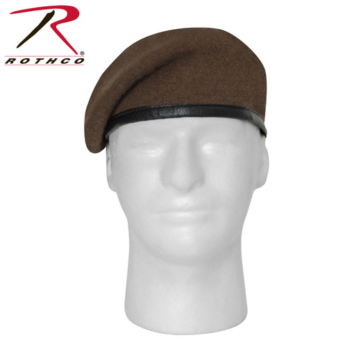 G.I. Type Inspection Ready Beret - Brown