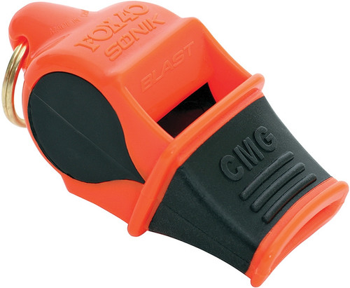 Sonik Blast CMG Whistle Orange